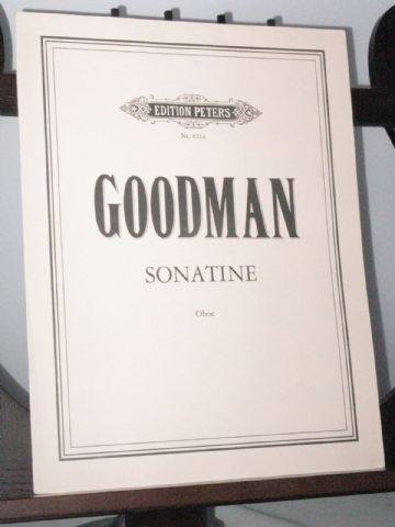 Goodman A - Sonatine for Oboe